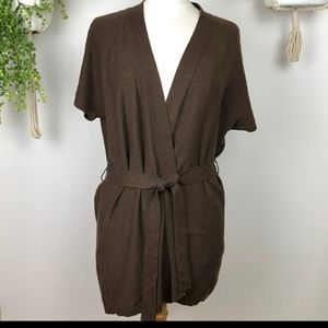 COPY - Boden long cardigan brown belted casual sh…